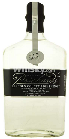 Prichards Corn Whiskey Lincoln County Lightning